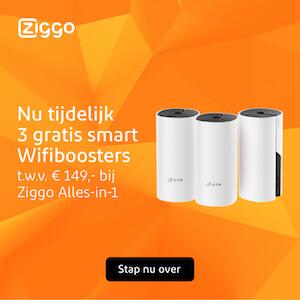Ziggo wifi booster banner