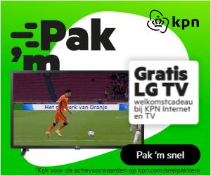 gratis LG tv KPN internet