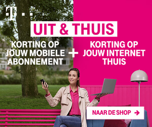 T-mobile banner uit thuis